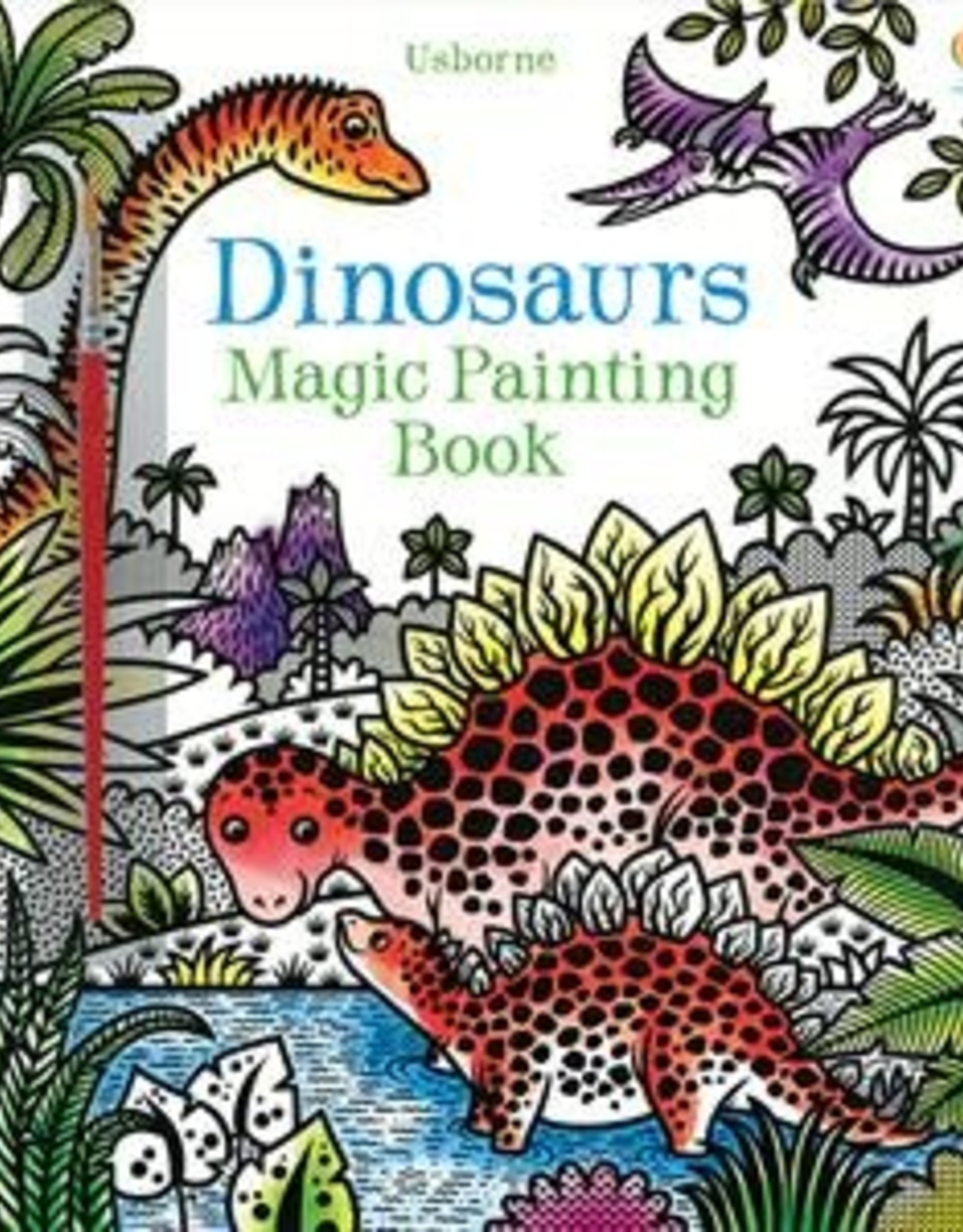 Usborne Magic Painting Book Dinosaurs