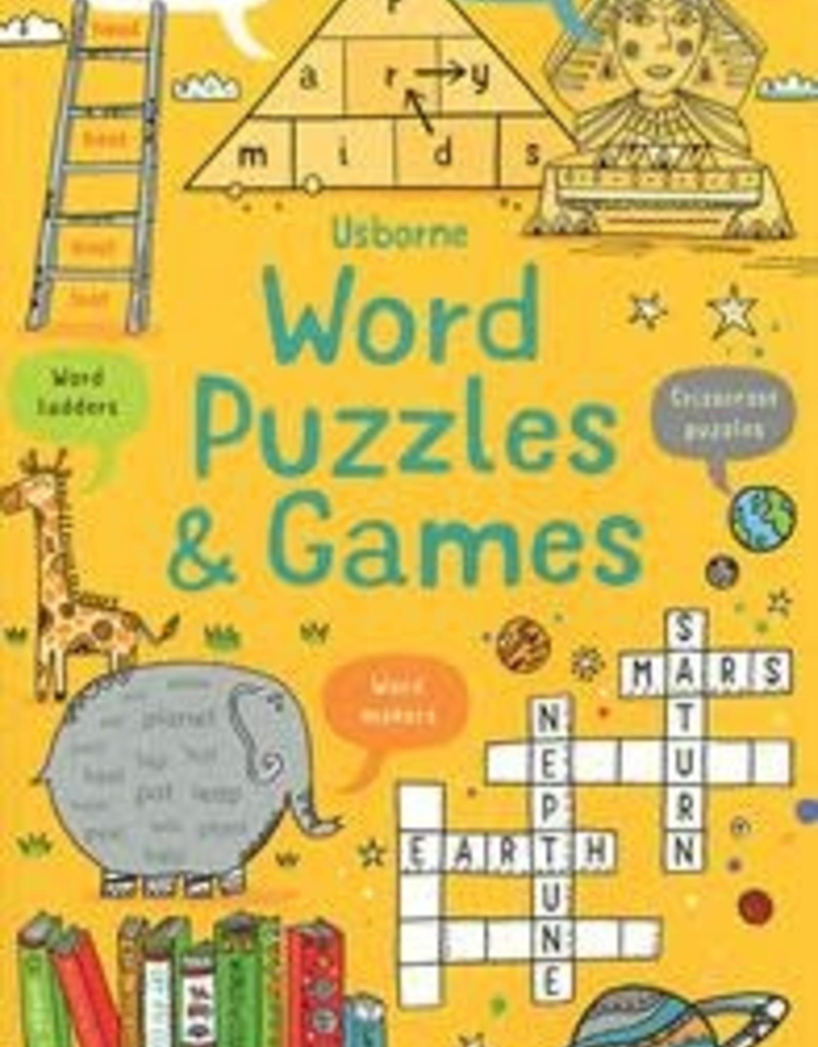 Usborne Word Puzzles & Games