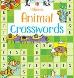 Usborne Crosswords Animal