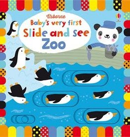 Usborne Very First Slide and See Zoo