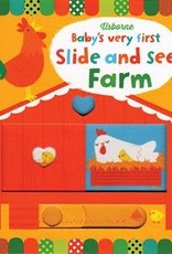 Usborne Very First Slide and See Farm