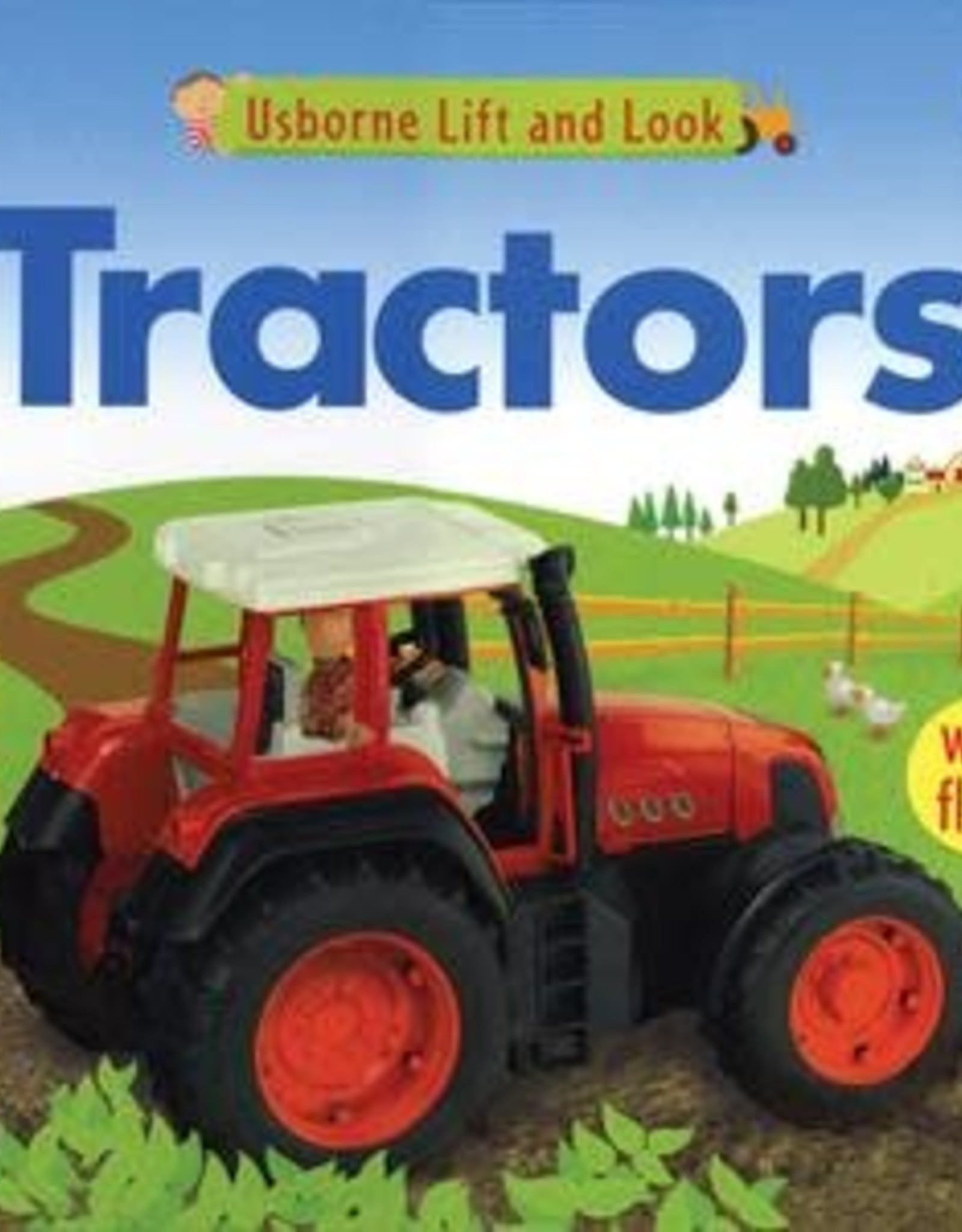 Usborne Lift and Look Tractors