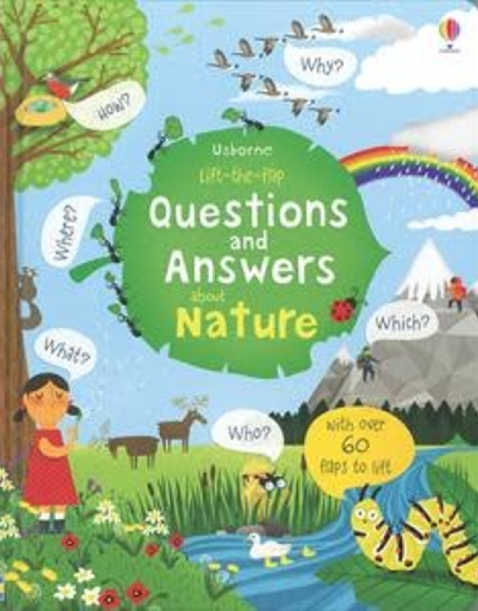 Usborne Lift-the-Flap Questions and Answers About Nature IR