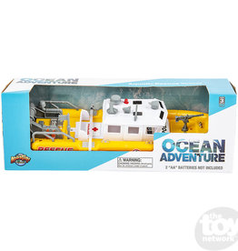Adventure Planet Adventure Set Aquatic Rescue Vessel