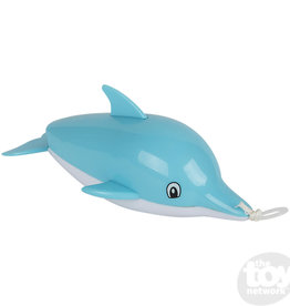 The Toy Network Pull Back Bath Toy Dolphin