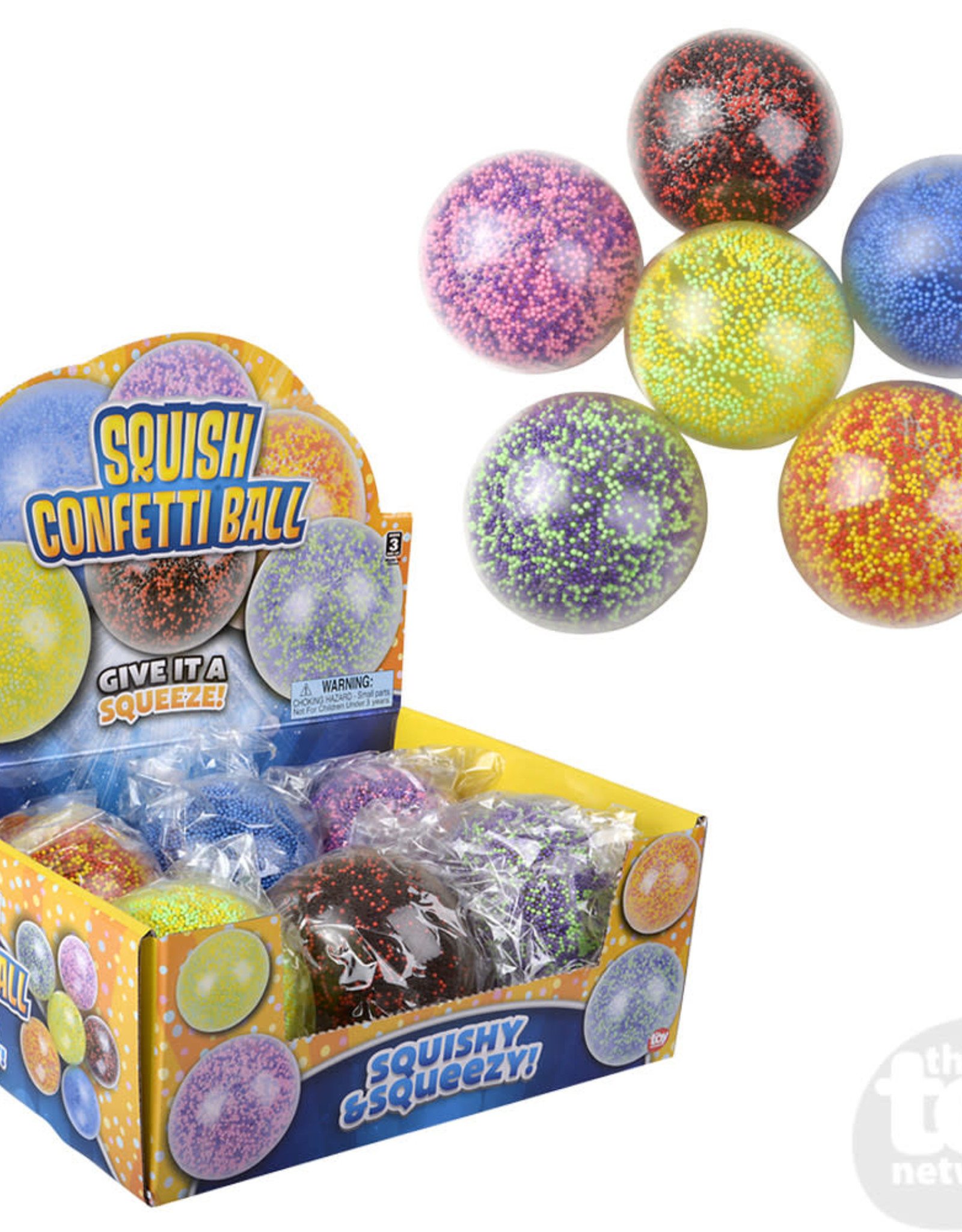 The Toy Network Ball Squish Confetti
