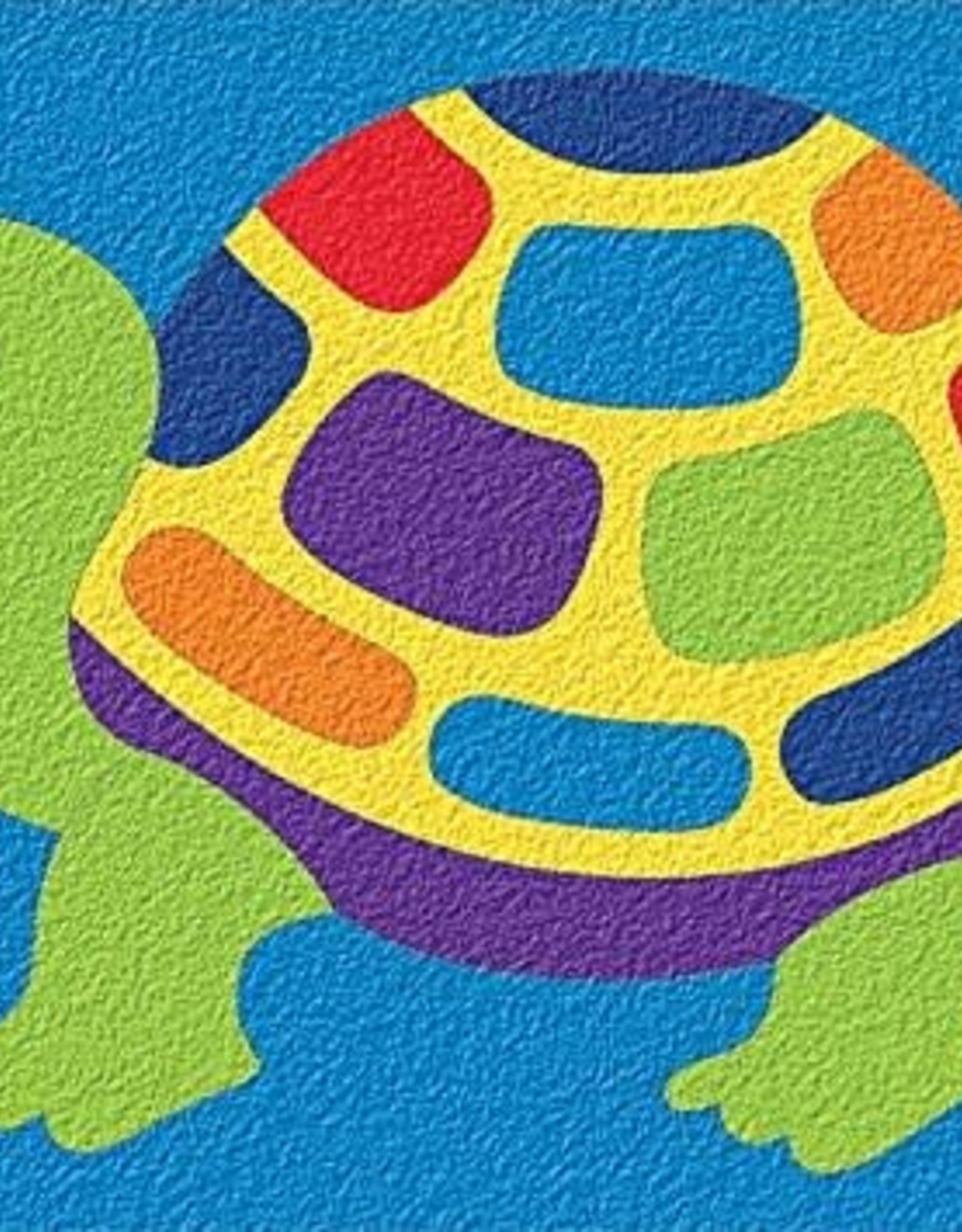 Lauri 18pc Crepe Rubber Puzzle Turtle