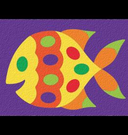 Lauri 15pc Crepe Rubber Puzzle Fish