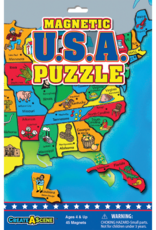 PlayMonster Magnetic USA Puzzle