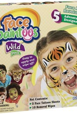 PlayMonster Face Paintoos Wild Animals