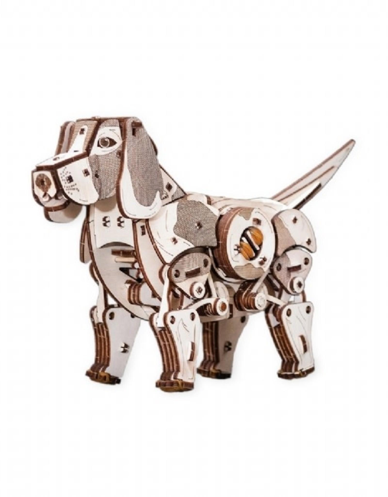 Eco Wood Art Puppy