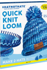 Creativity for Kids Quick Knit Kit HAT NOT HATE