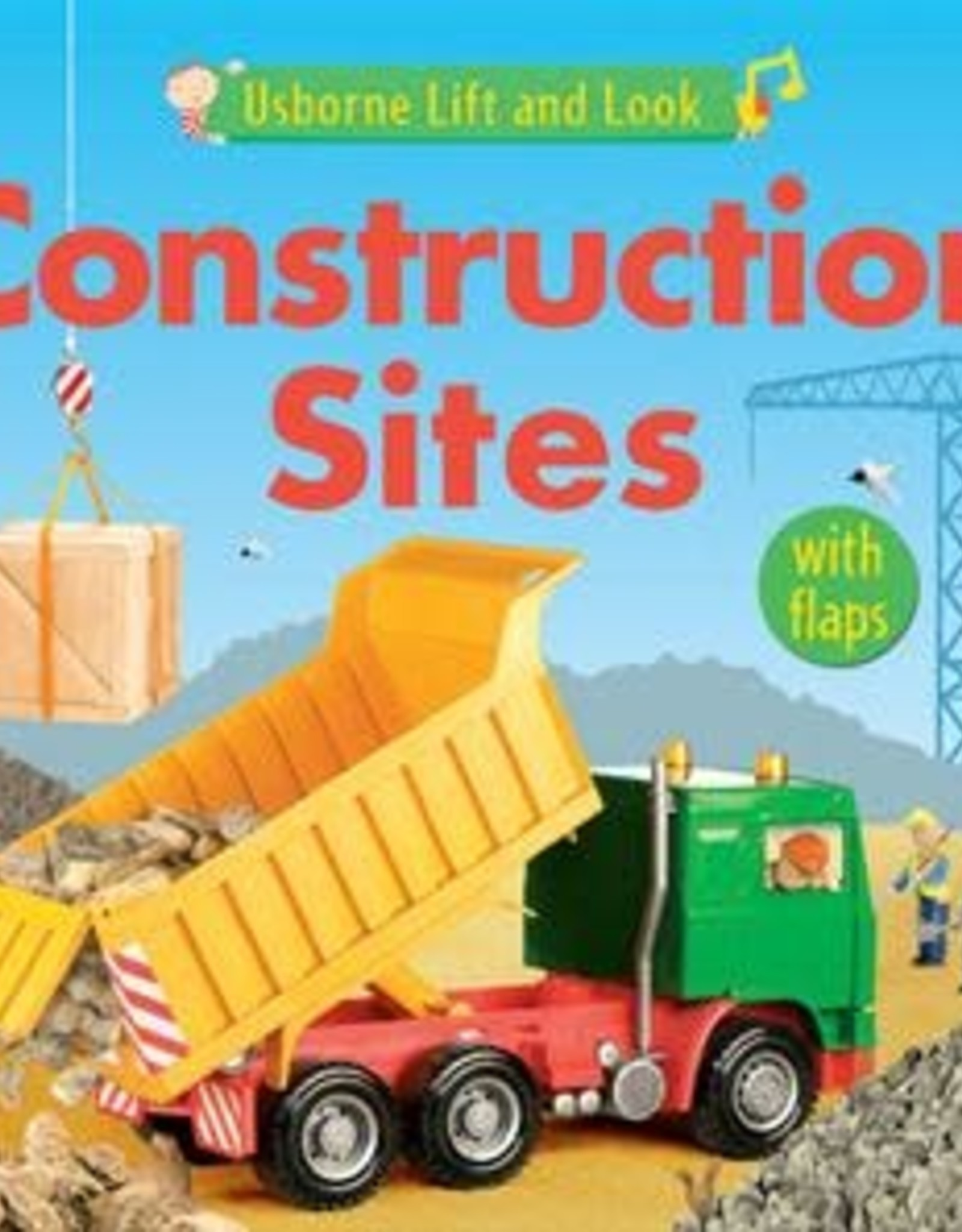 Usborne Lift and Look Construction Sites