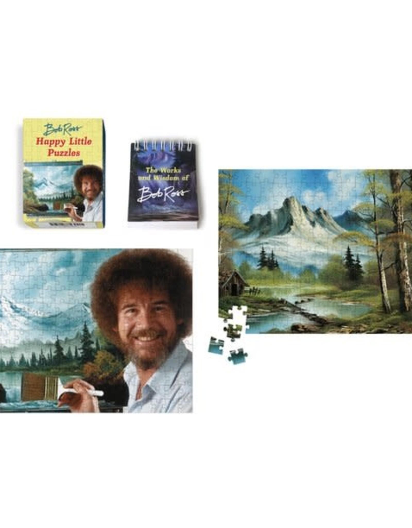 Hachette Mini Kit Bob Ross Happy Little Puzzles
