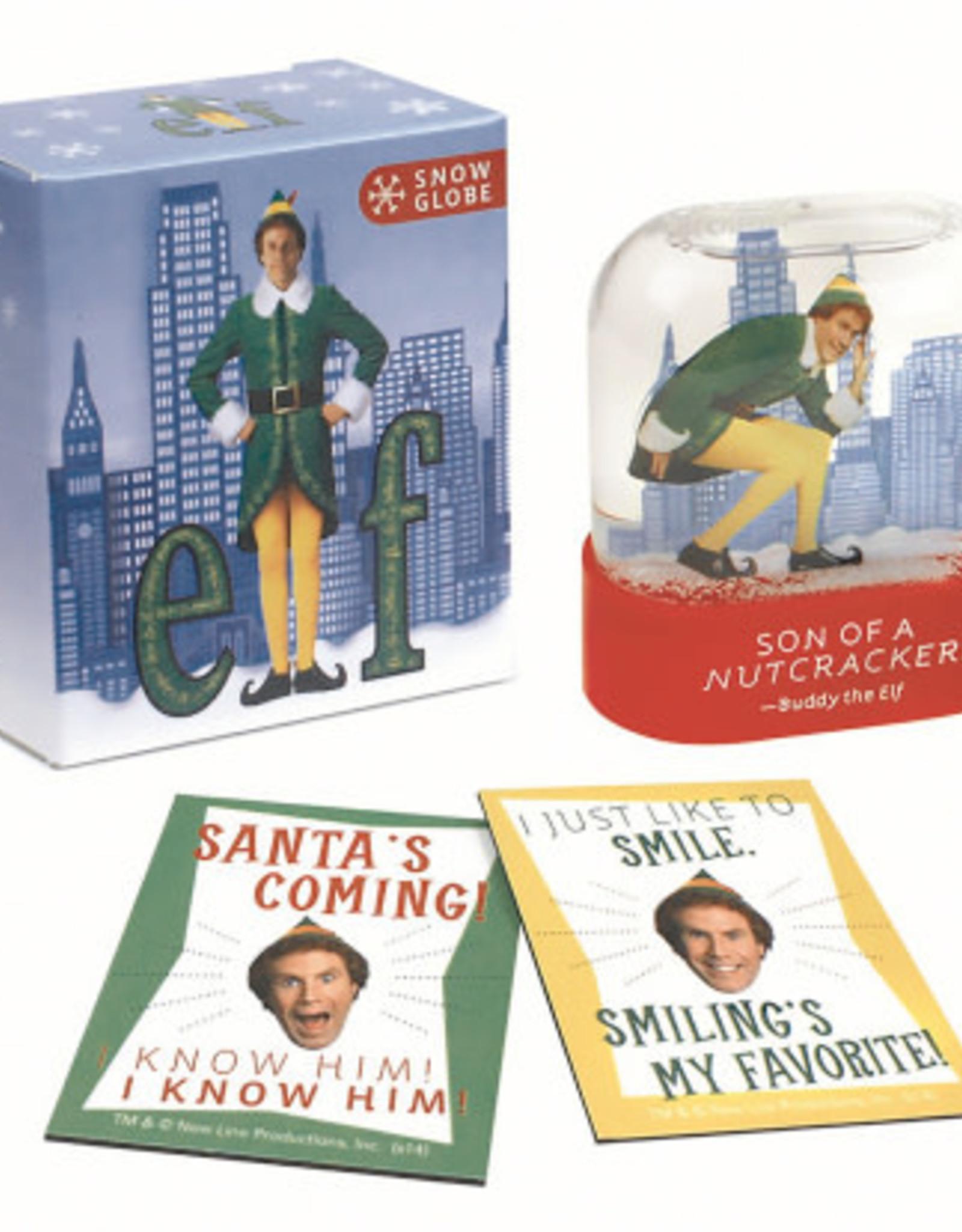 Hachette Mini Kit Elf Snow Globe