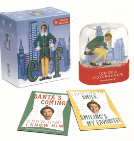 Hachette Mini Kit Elf Snow Globe