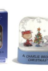 Hachette Mini Kit Charlie Brown Christmas Snow Globe