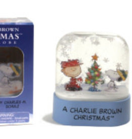Hachette Mini Kit Charlie Brown Christmas Snow Globe
