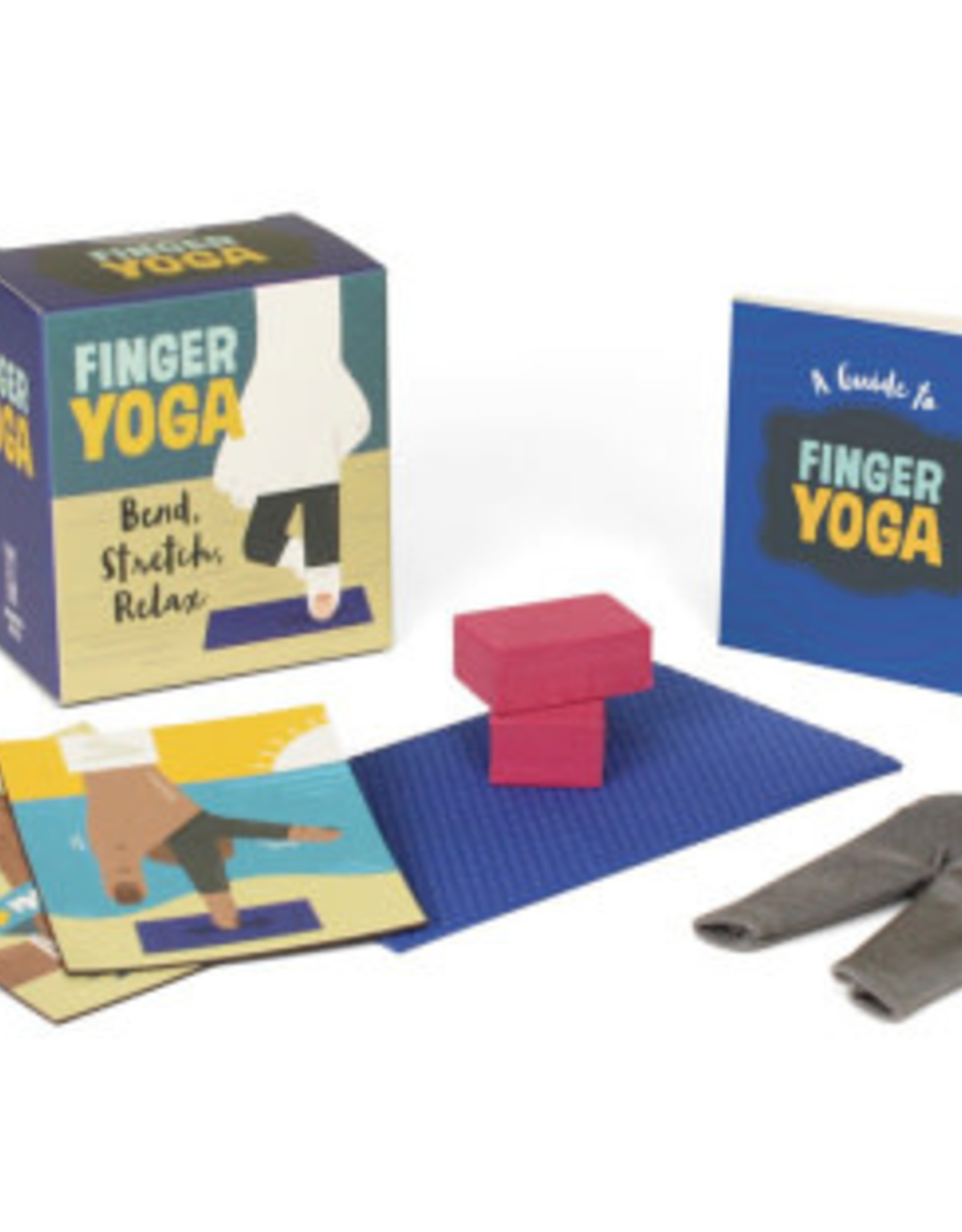 Hachette Mini Kit Finger Yoga