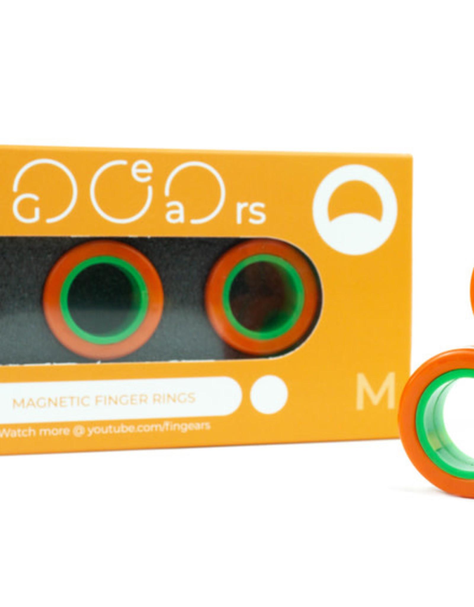 Blue Orange FinGears Orange Green M