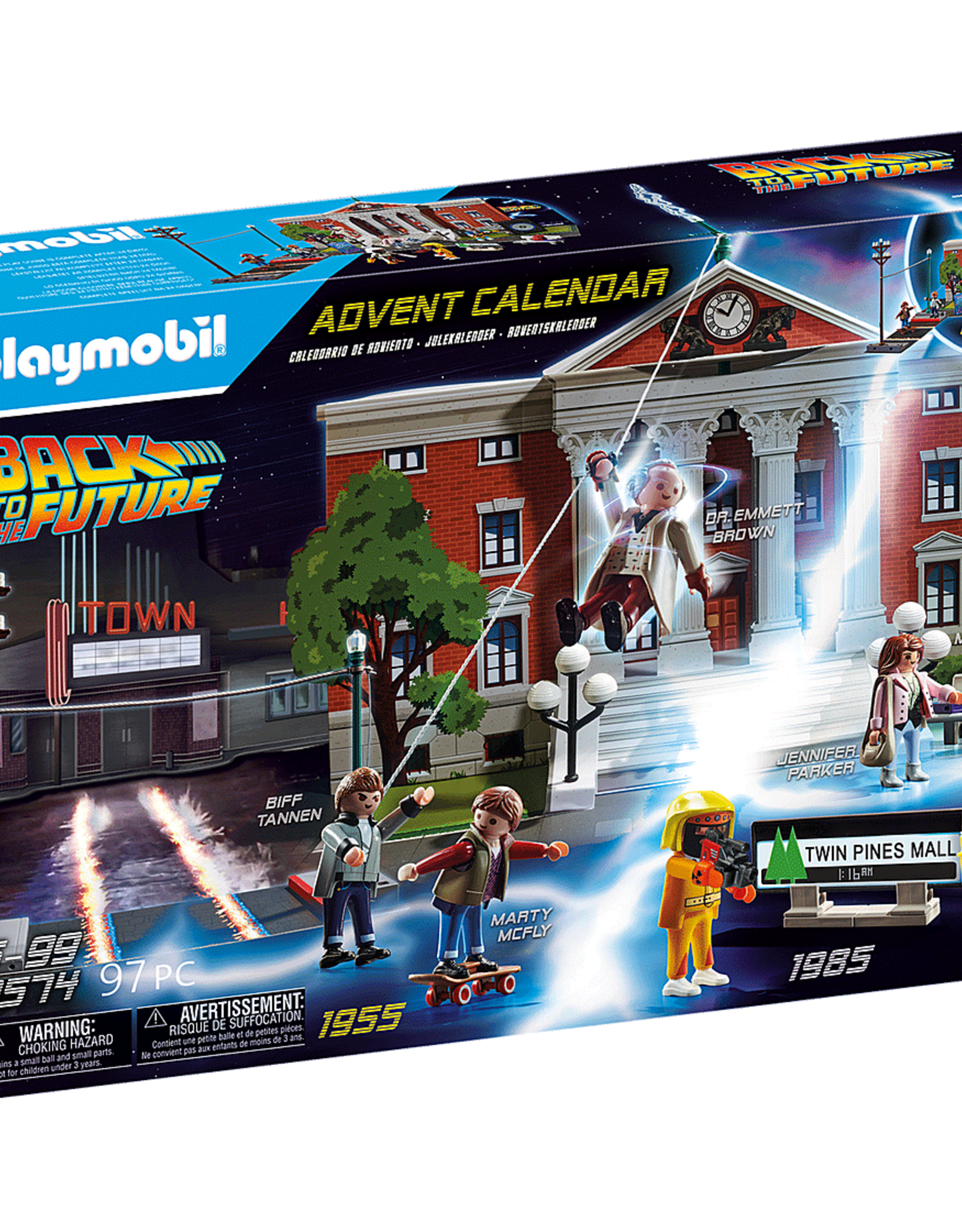 Playmobil PM Back to the Future Advent Calendar