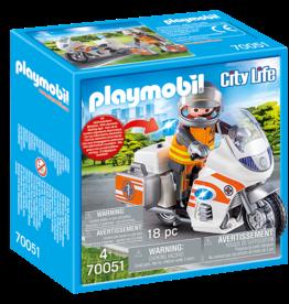 Playmobil PM Emergency Motorbike