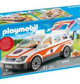 Playmobil PM Emergency Car with Siren