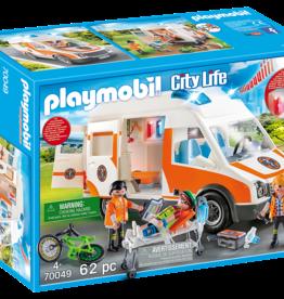 Playmobil PM Ambulance with Flashing Lights