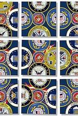 B Dazzle Scramble Squares US Military