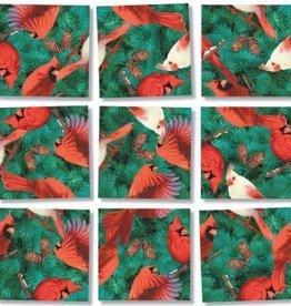 B Dazzle Scramble Squares Cardinals