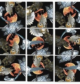 B Dazzle Scramble Squares Owls