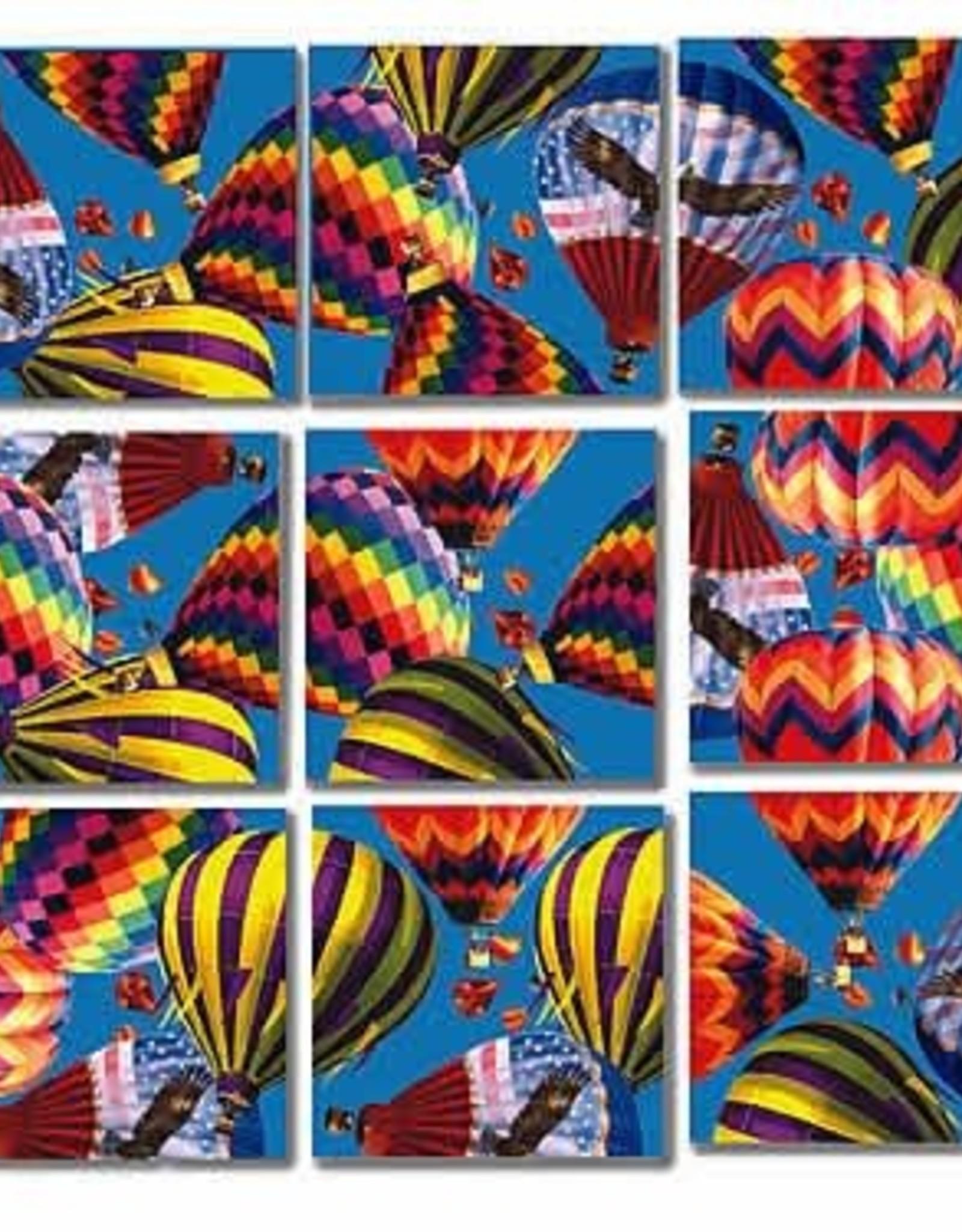 B Dazzle Scramble Squares Hot Air Balloons