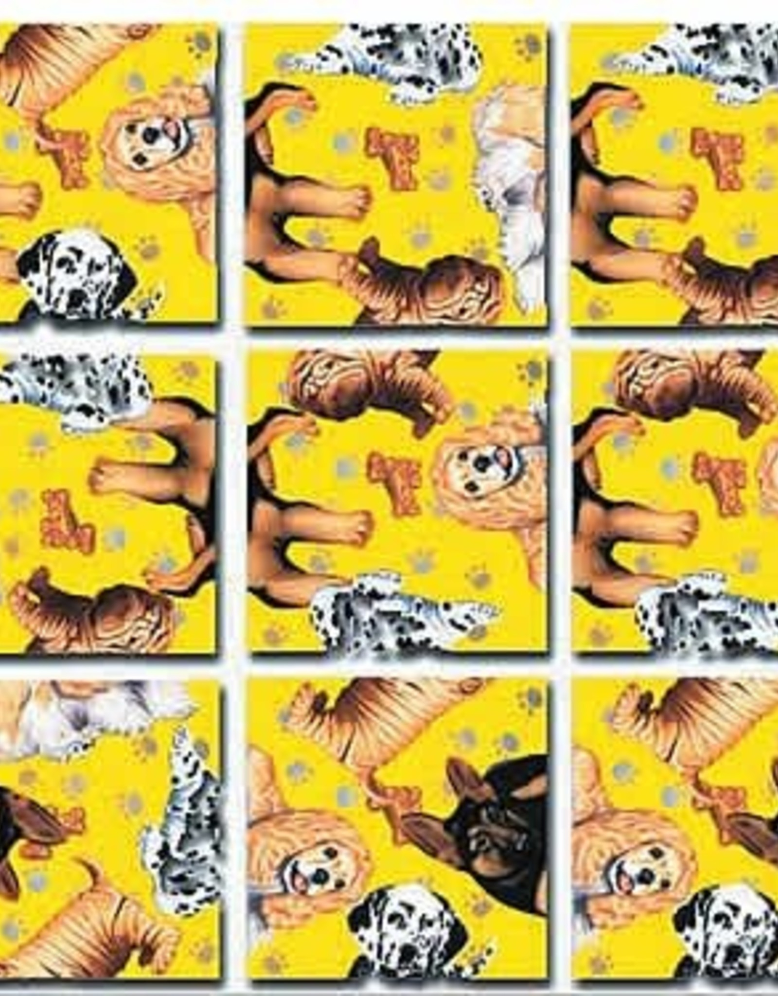 B Dazzle Scramble Squares Puppies