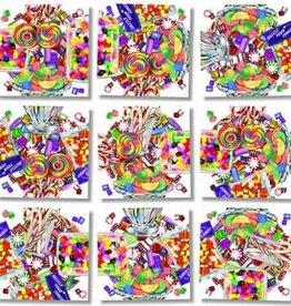 B Dazzle Scramble Squares Candy