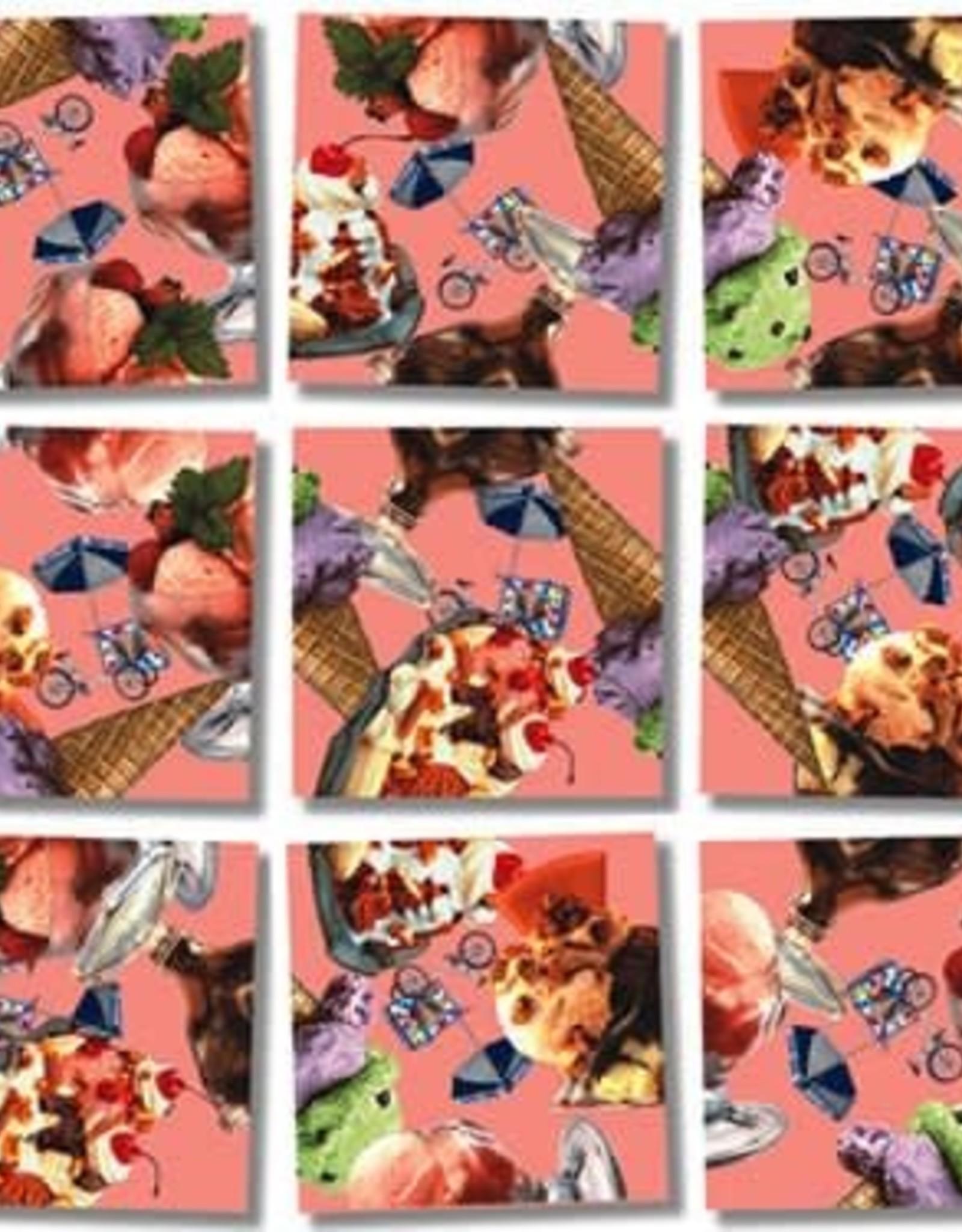 B Dazzle Scramble Squares Ice Cream