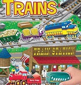 PlayMonster Magnetic Create A Scene Trains