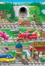 PlayMonster Magnetic Create A Scene Trains