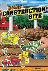 PlayMonster Magnetic Create A Scene  Construction Site