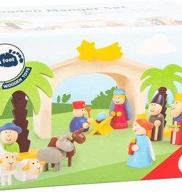 Small Foot Wooden Nativity 15pc Set