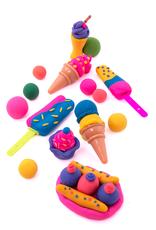 Tutti Frutti Clay Ice Pops