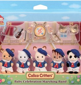 Calico Critters CC Baby Friends Marching Band