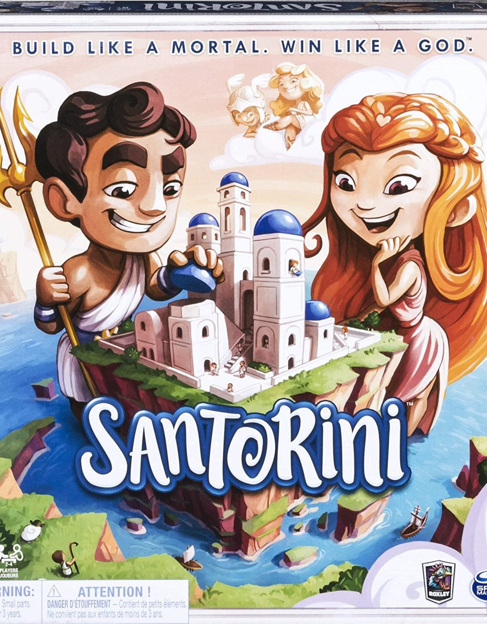 Spin Master Santorini Board Game