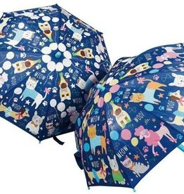 Floss & Rock Umbrella Color Change Cats & Dogs