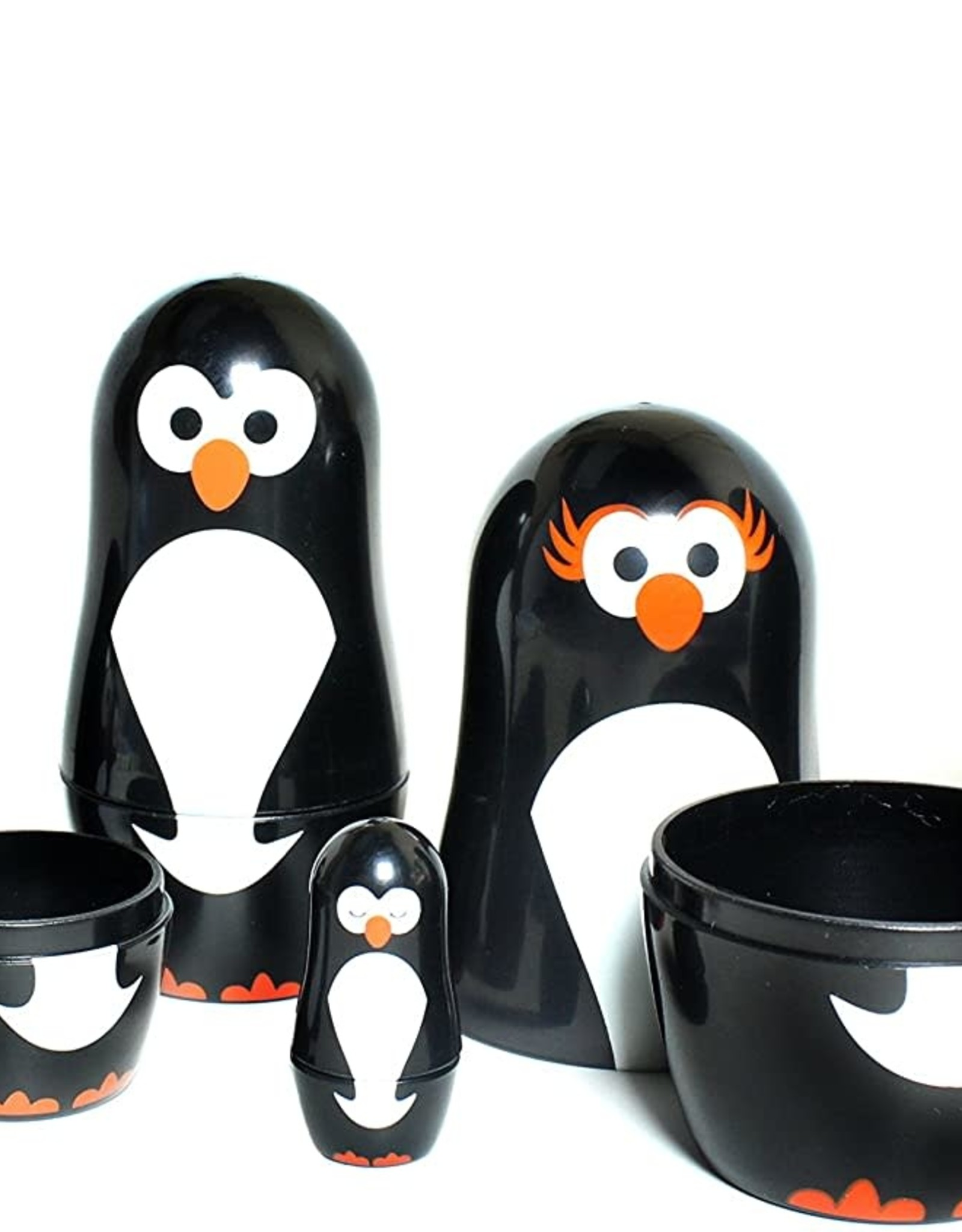 Club Earth Penguin Parade Nesting dolls