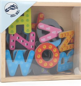 Small Foot Colourful Magnetic Letters