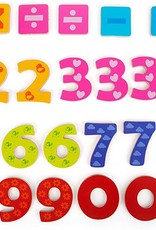 Small Foot Magnetic Numbers