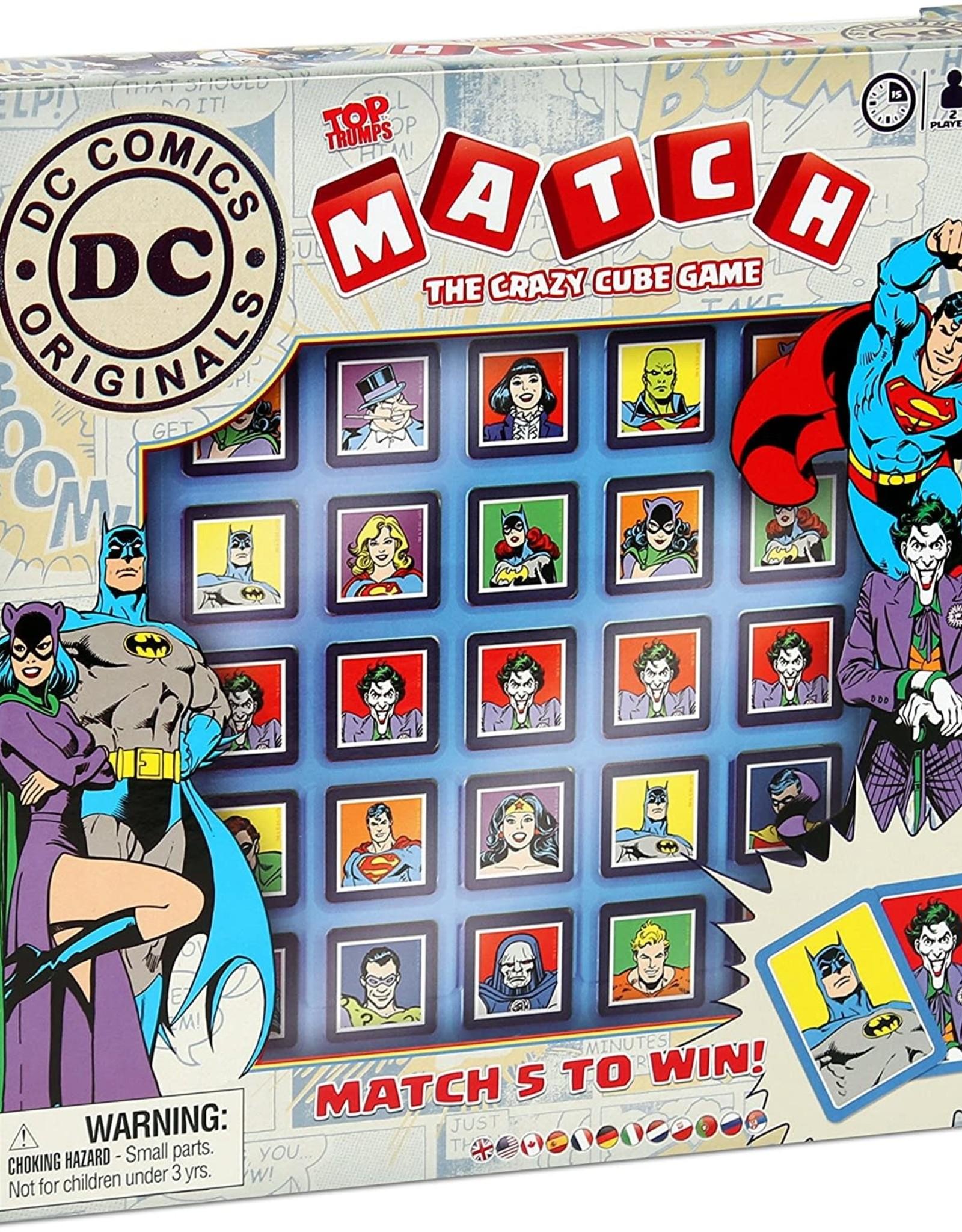 Top Trumps Matching Game DC Comics
