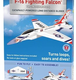 WowToyz Smithsonian F-16 Fighting Falcon Thunderbirds Glider