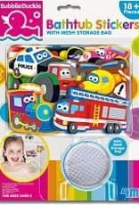 Toysmith Bathtub Stickers Transport