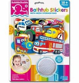 Toysmith Bathtub Stickers Transport